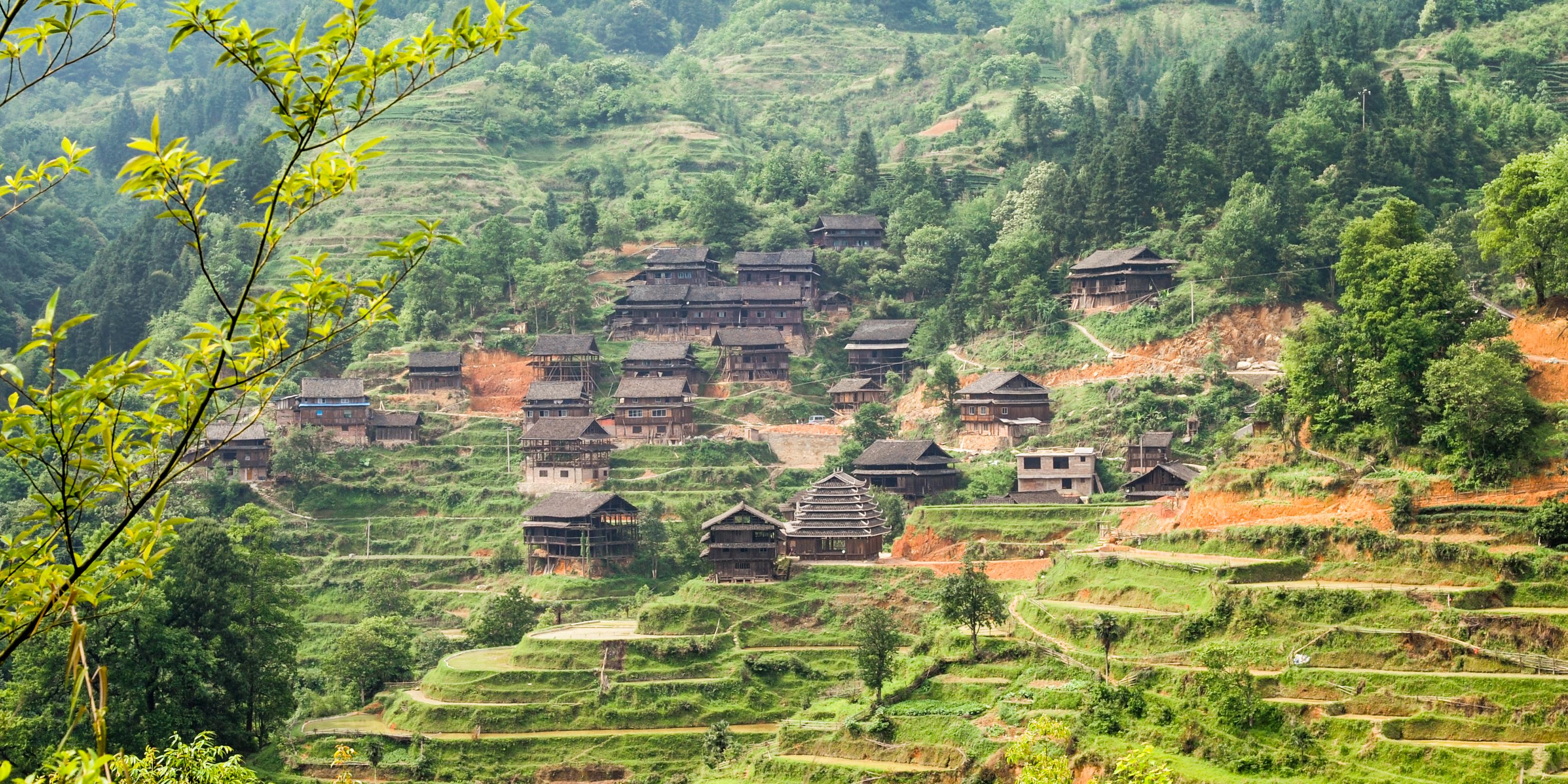 Guizhou bikeaways zhaoxing to Sanjiang