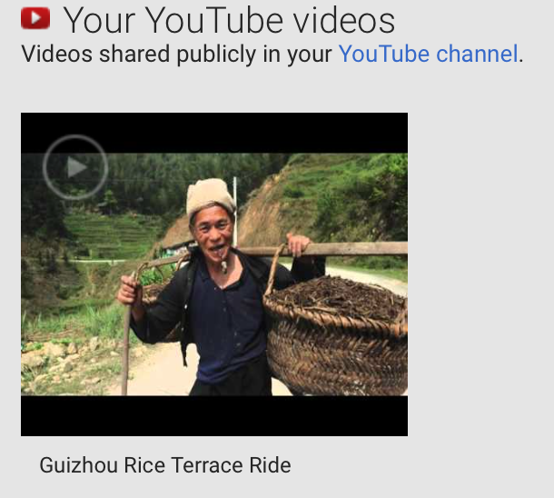 Guizhou Rice Terrace ride