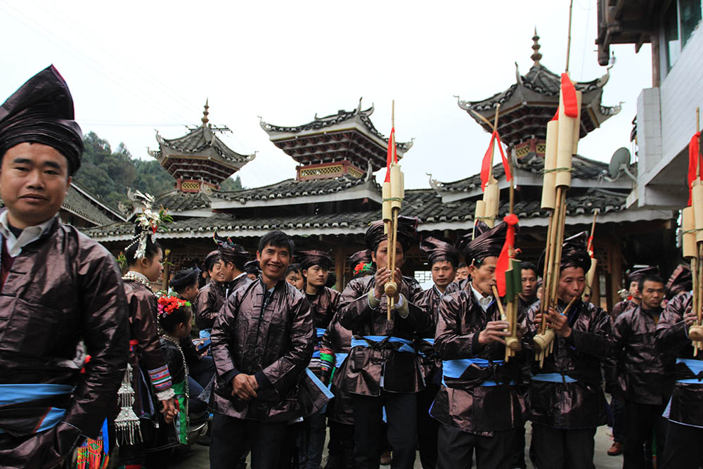 musicians-from-dong-tribe-in-festival-in-congjiang