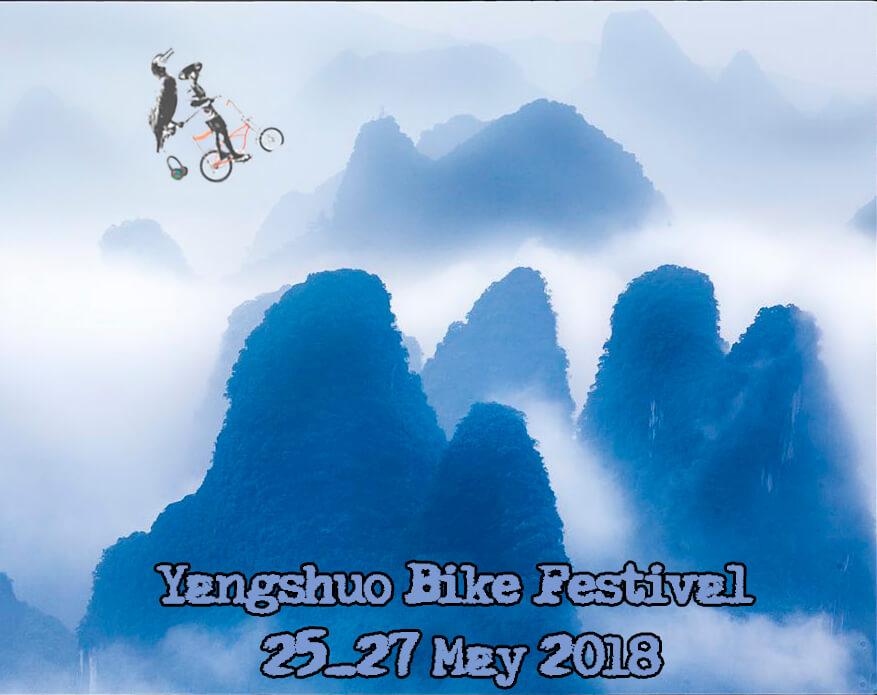 The Yangshuo Bike Festival 25-27 May 2018 poster
